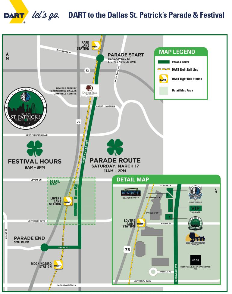 St  Paddy's Dash Down Greenville 5K - Mar  14, 2020 - Dallas