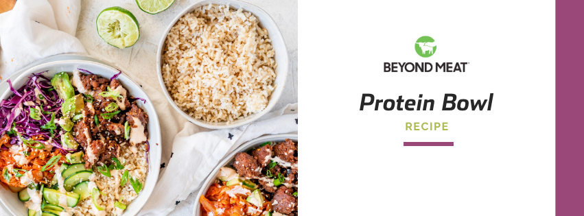 Beyond Beef Protein Bowl