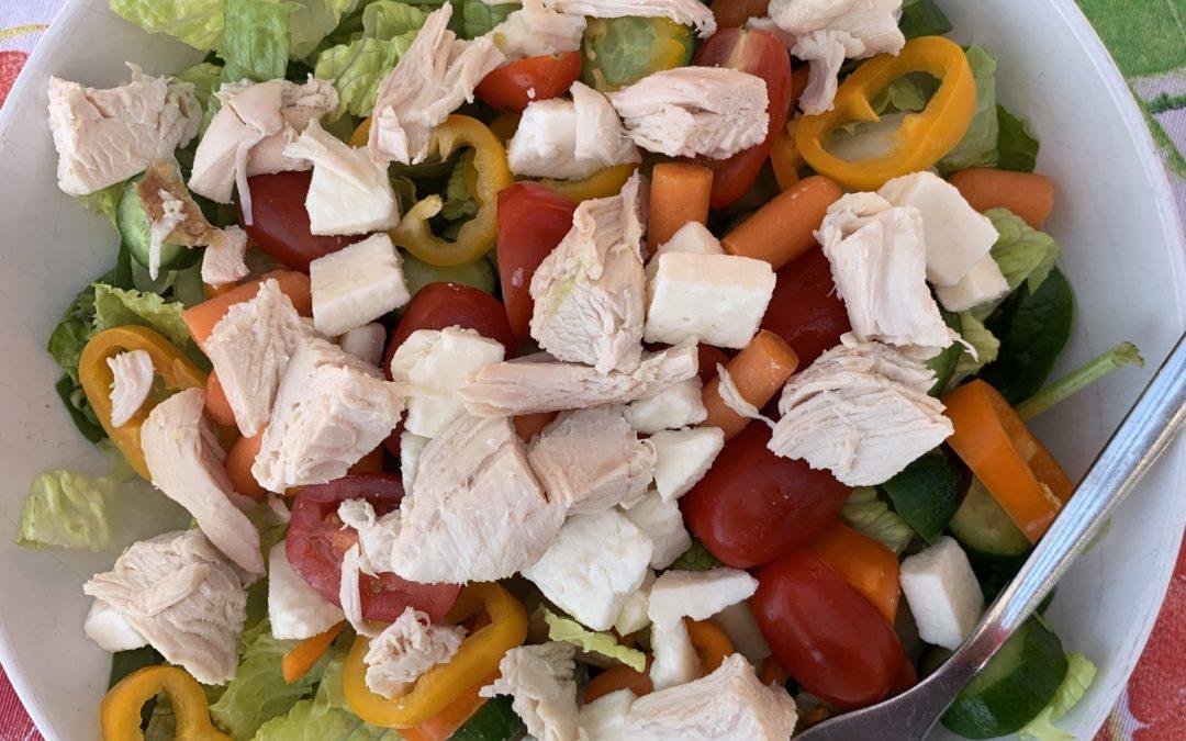 Jodi's Favorite, FAST, Weeknight Salad